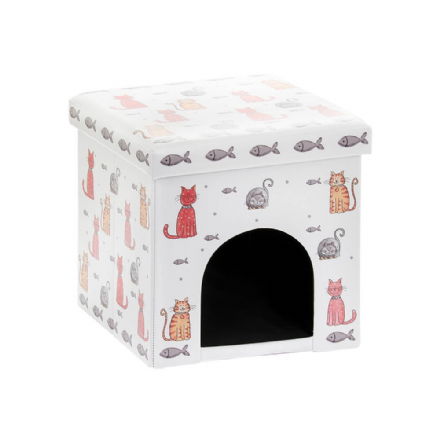 Faithful Friends Cat Folding Pet Box